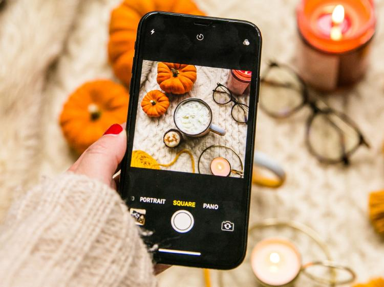 Edita las fotos que sacas con el móvil.