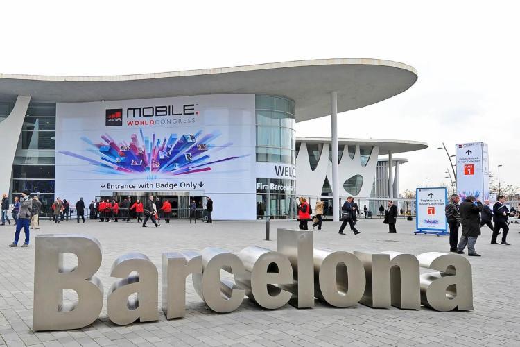 REcinto de la Fira de Barcelona del MWC.