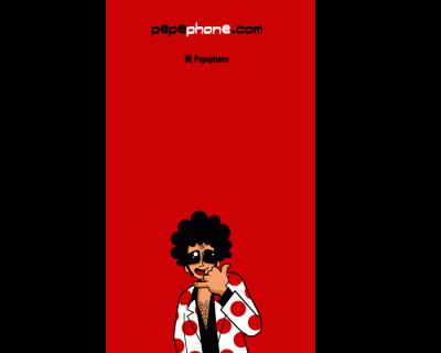 Pepephone pantallazo aplicación