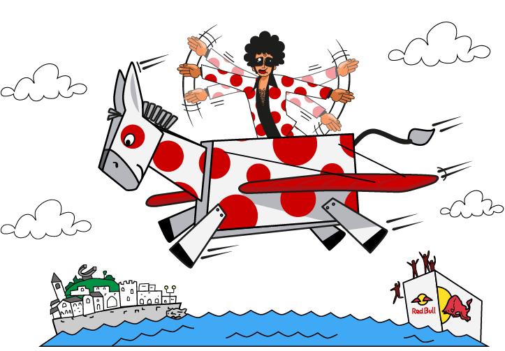 En Gijón el próximo domingo 3 de septiembre Red Bull celebra El día de las alas. Participa en la Porra inimitable.