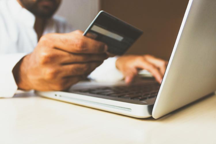 Compras online durante la pandemia.