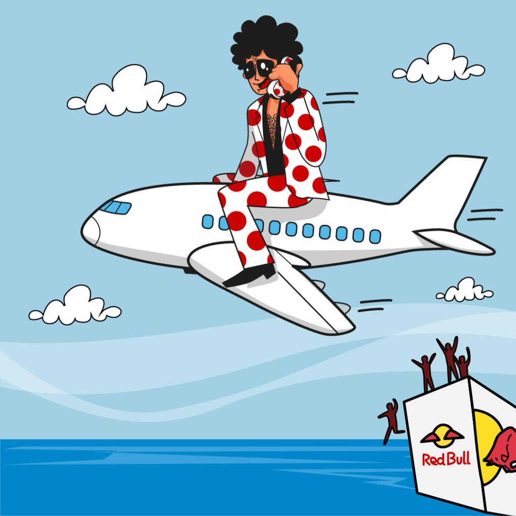 RedBull FlugTag. Pepephone confirma su presencia en el Día de las Alas. Gijón 3 de septiembre de 2017