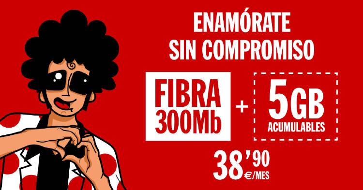 Lanzamos una nueva  tarifa de Fibra y móvil al mejor precio