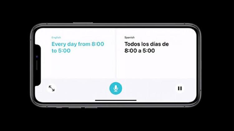 Con Siri puedes traducir textos desde iOS 14.