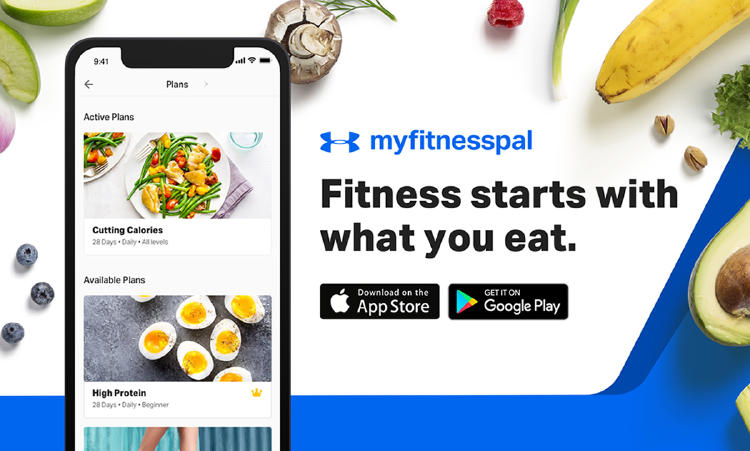 MyFitnessPal para smartphones.