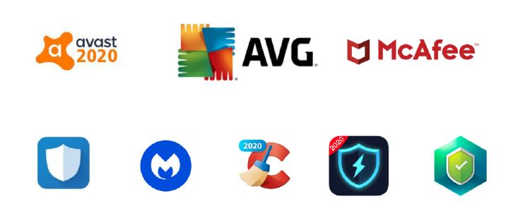 Principales marcas de antivirus para móviles.