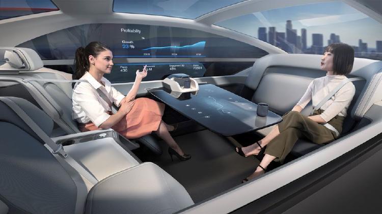 Concepto de vehículo autónomo Volvo 360.
