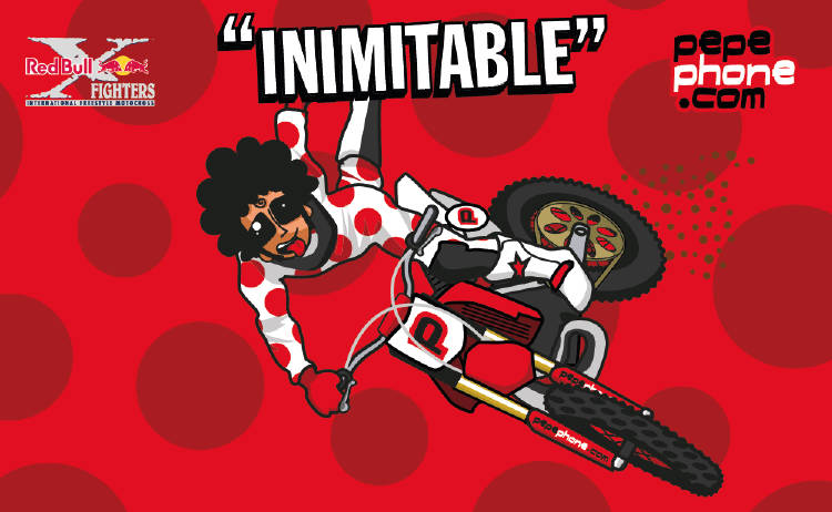 Pepephone Inimitable RedBull X Fighters