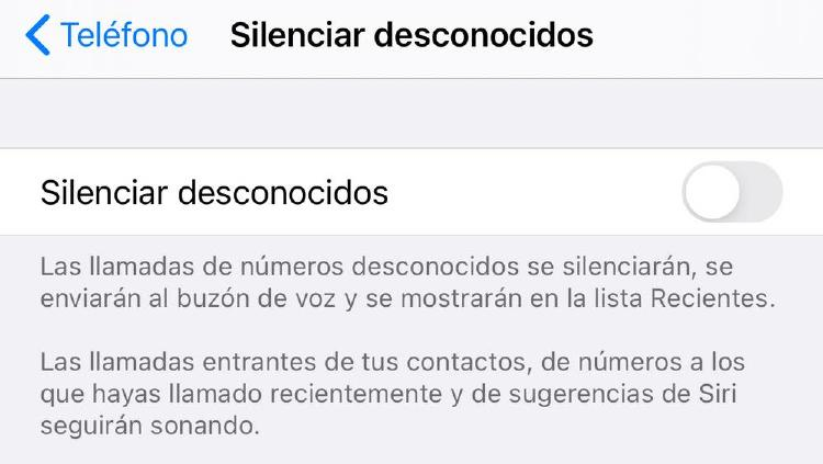 Bloquear llamadas en iPhone - 2