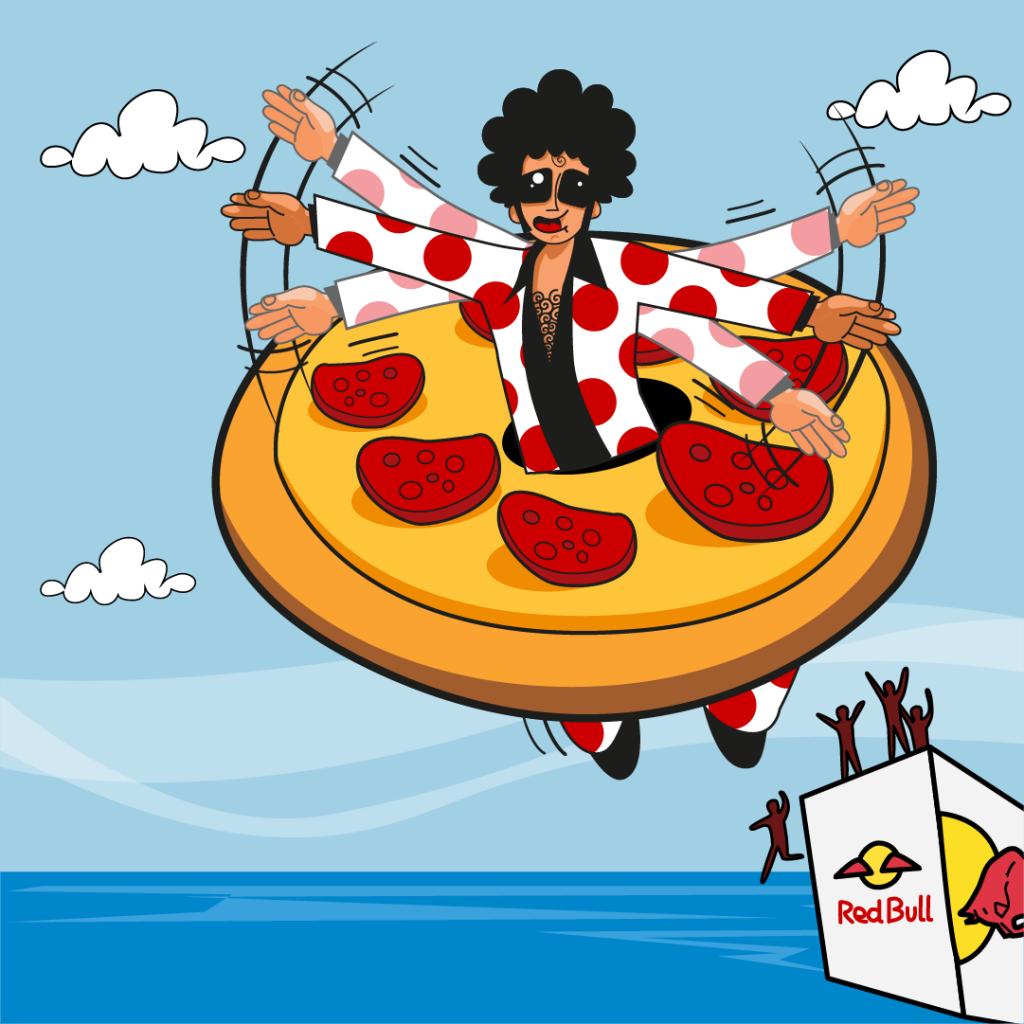 Pepephone Pizza Día de las Alas Red Bull Flugtag 2017