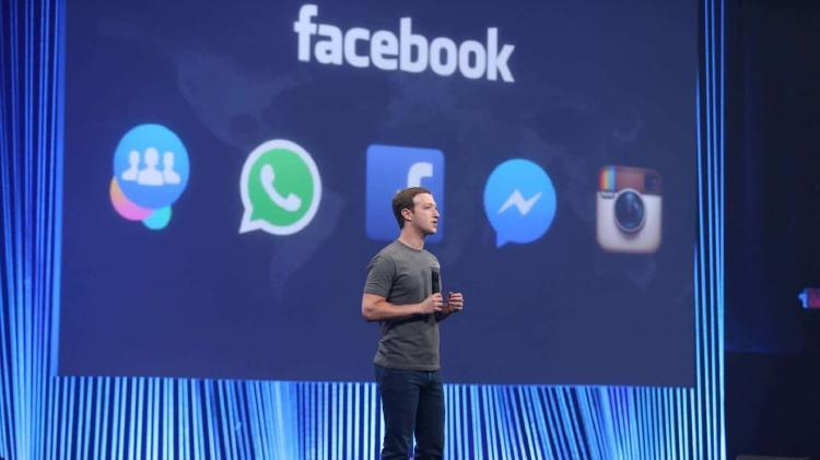 Mark Zuckerberg y todas las redes sociales que tienen.