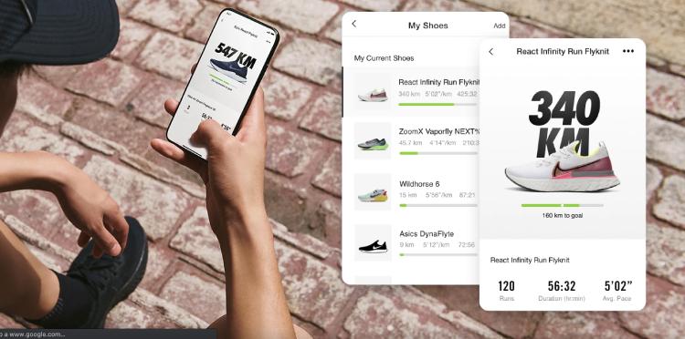 Nike+Runnig para smartphones.