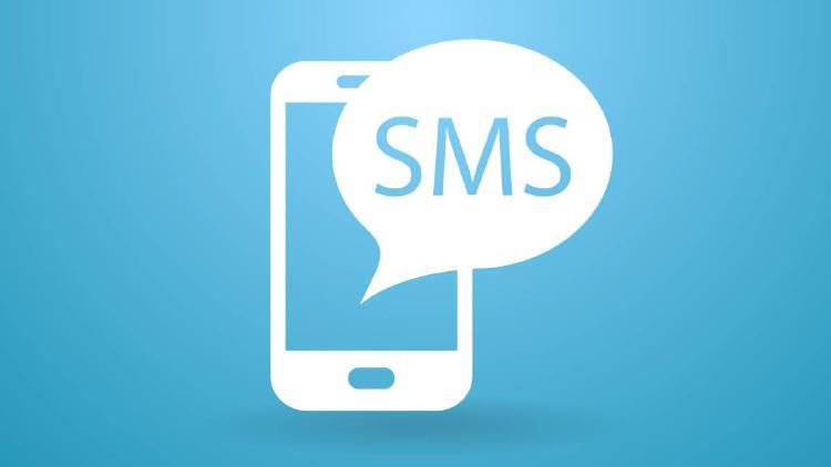 Mensajes SMS en el móvil.