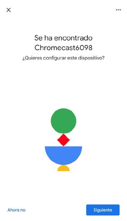 Configurar Chromecast - Conectar