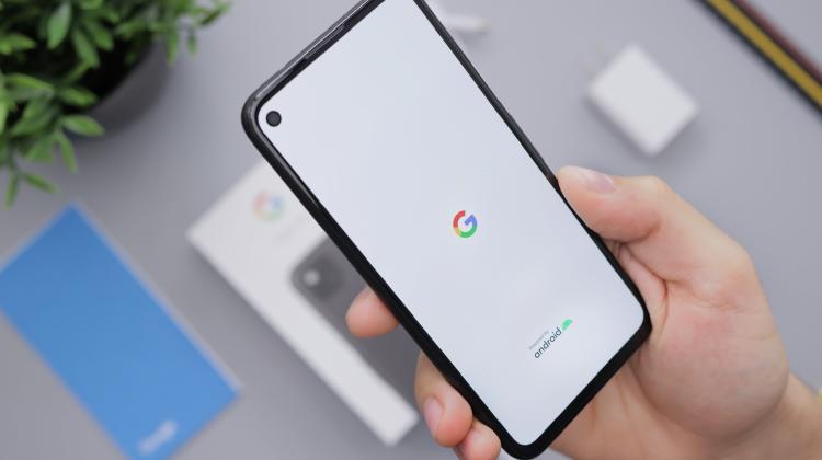 Smartphone con Android.