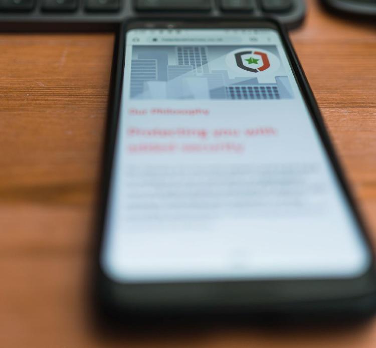 Antvirus en un móvil.