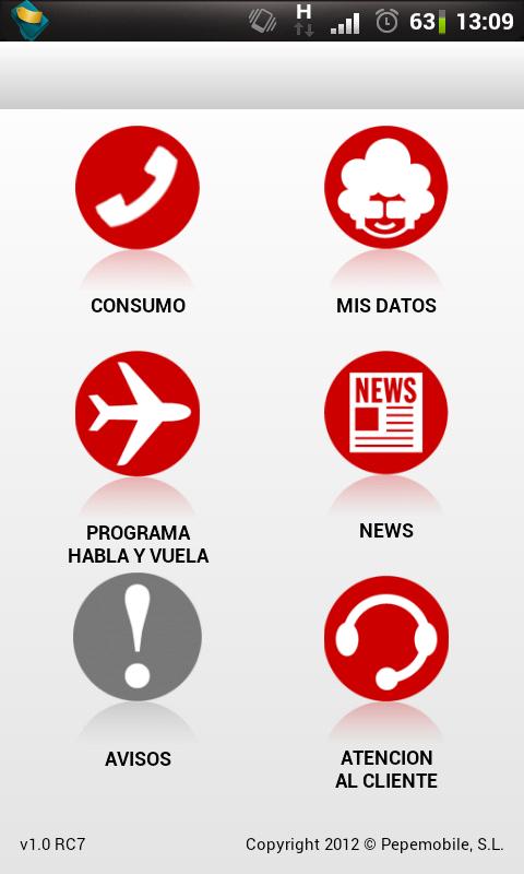 pepephone android aplicacion movil consulta datos mipepephone