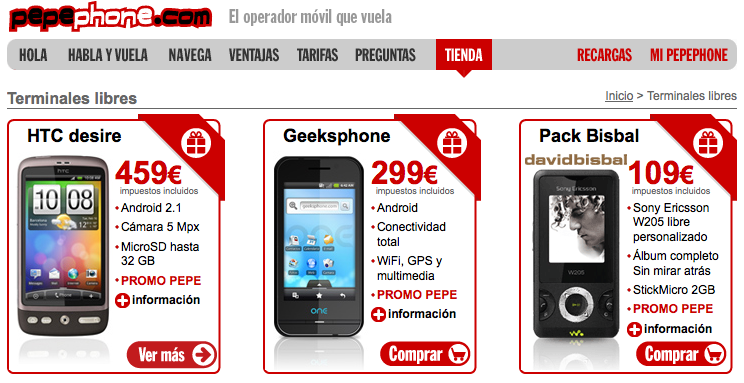 oferta pepephone internet gratis